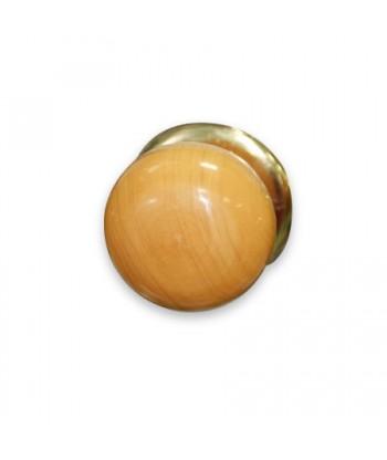 Ручка-кнопка 1БС1 (светлое дерево. без глазка)
