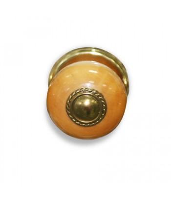 Ручка-кнопка 1БС1-1 (светлое дерево)