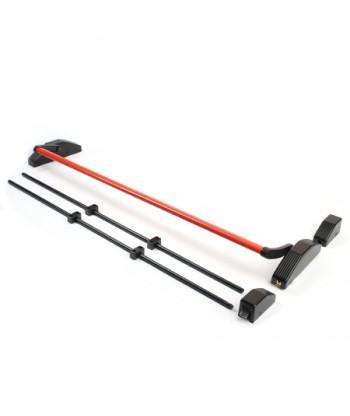 Ручка-штанга нажимная с тягами Apecs РВ-1700С-Panic-B/Red