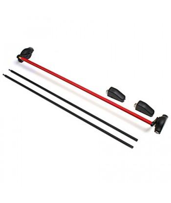 Ручка-штанга нажимная с тягами Apecs РВ-1900С-Panic-B/Red