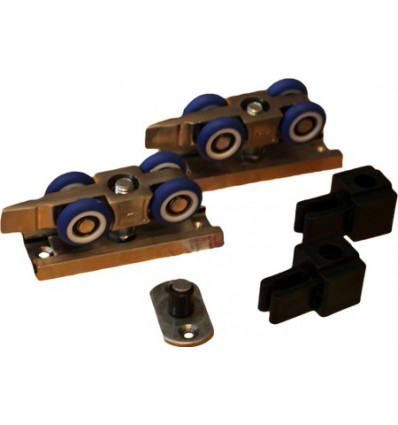 Механизм для дверей купе (модель 060А) с фиксацией