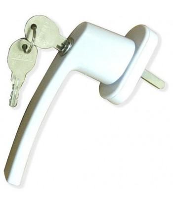 Завертка оконная на пластиковые окна с ключом