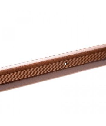 Порог стык АЛ-125-0.72м (медн.антик)