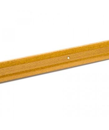 Порог стык АЛ-125-1.0м (бук)