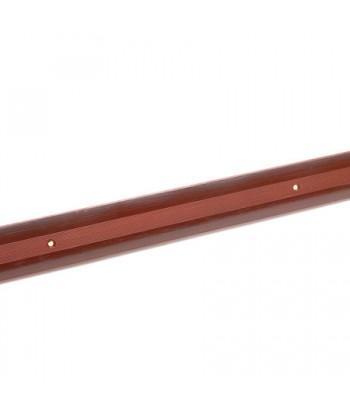 Порог стык АЛ-125-1.0м (вишня)