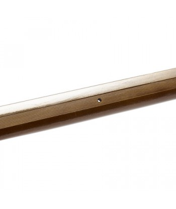 Порог стык АЛ-125-1.5м (бр.антик)