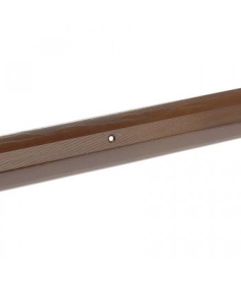 Порог стык АЛ-125-1.5м (бр.метал)
