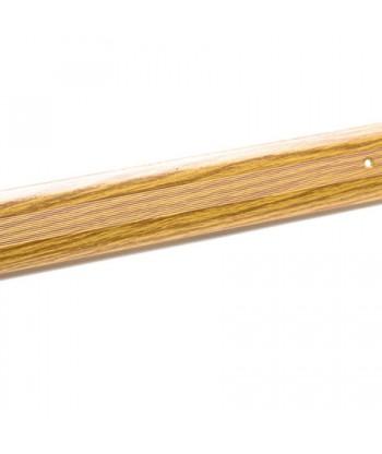 Порог стык АЛ-125-1.5м (дуб)
