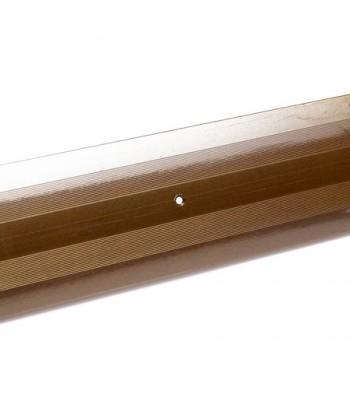 Порог стык АЛ-380-1.0м (бр.метал)