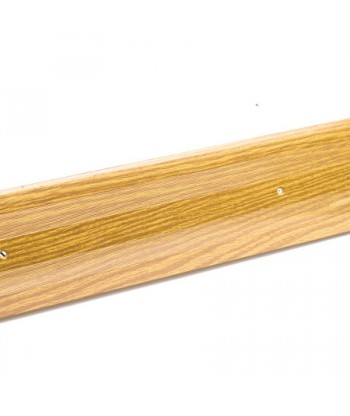 Порог стык АЛ-380-1.0м (дуб)