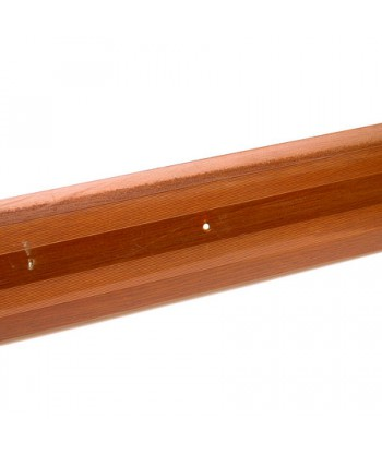 Порог стык АЛ-380-1.0м (вишня)