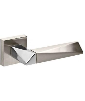 Ручка раздельная Fuaro (Фуаро) DIAMOND DM SN/CP-3 матовый никель/хром