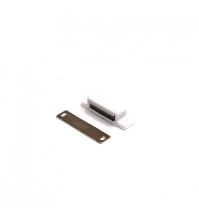 Защелка магнитная Amig-10 (белая)