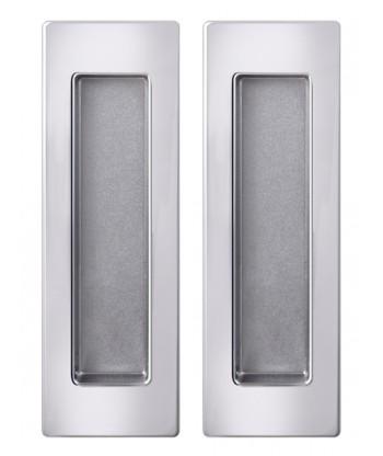 Ручка Armadillo (Армадилло) для раздвижных дверей SH010 URB СР-8 Хром