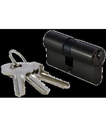 70C BL, ключевой цилиндр (70мм), цвет черный