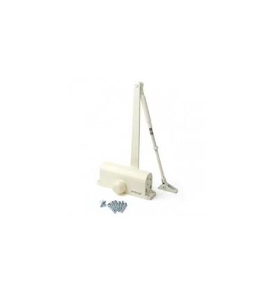 Доводчик НОРА-М №3S бол. (до 80 кг) (белый) морозостойкий