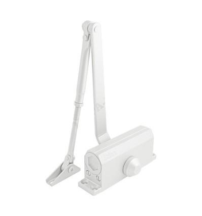 Доводчик НОРА-М №4S (до 120 кг) (белый) морозостойкий